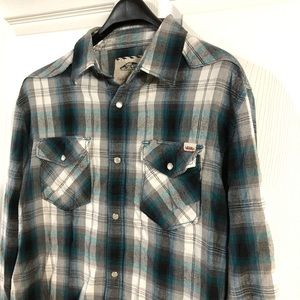 Vans Long Sleeve Button Up Men's Size Large
